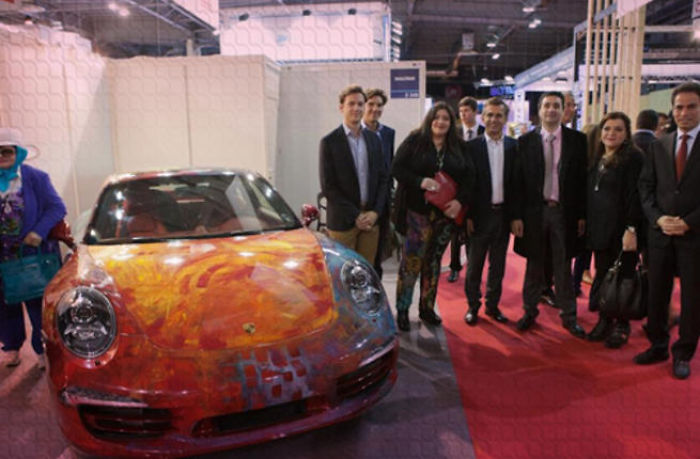 Saudi Artist Gets 1 Million Euro Offer For Hand-painted Car