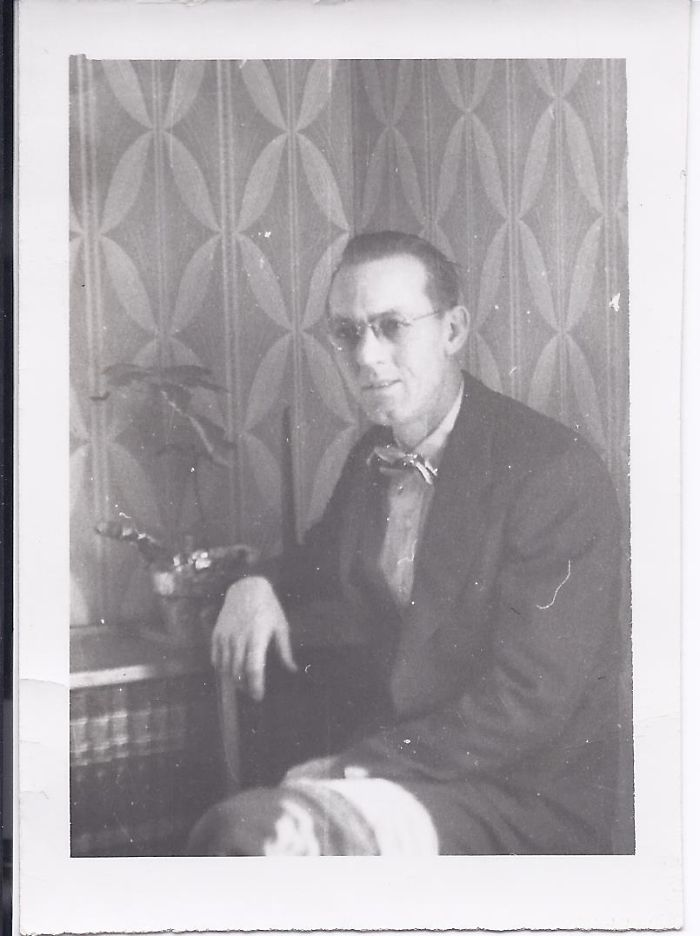 My Father, Lawrence N. Brown, Circa 1935.