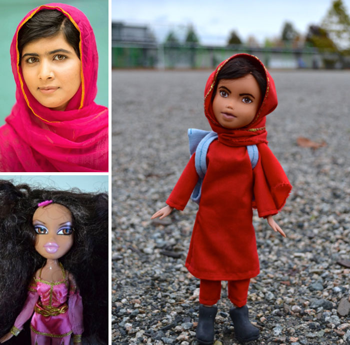 I Remove Make-Up From Hollywood And Disney Dolls To Turn Them Into Inspiring Real-Life Women