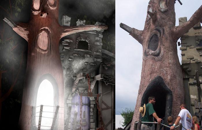 Artist Rebuilds Amazing Abandoned Theme Park