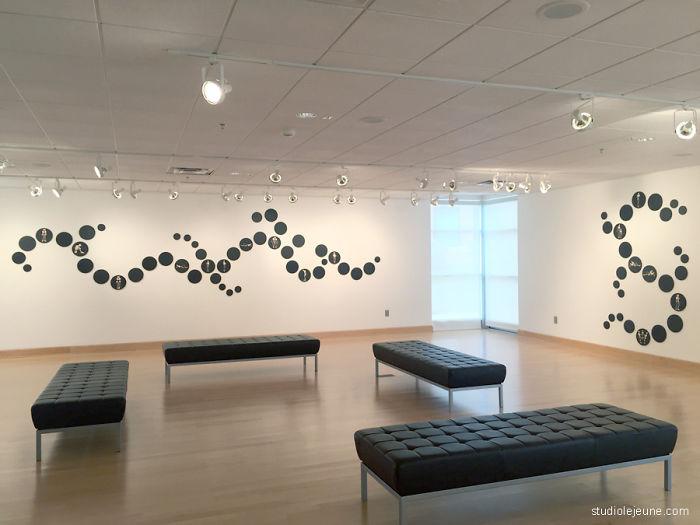 Artist's Installations Explore Human Emotion Using Digital Figures
