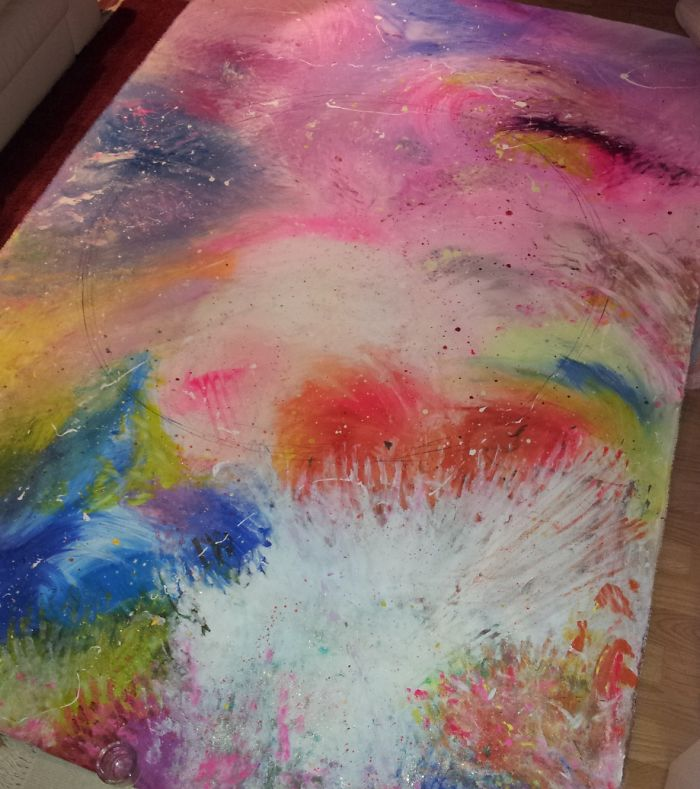 Passion – Painting With My Bare Hands And Feet