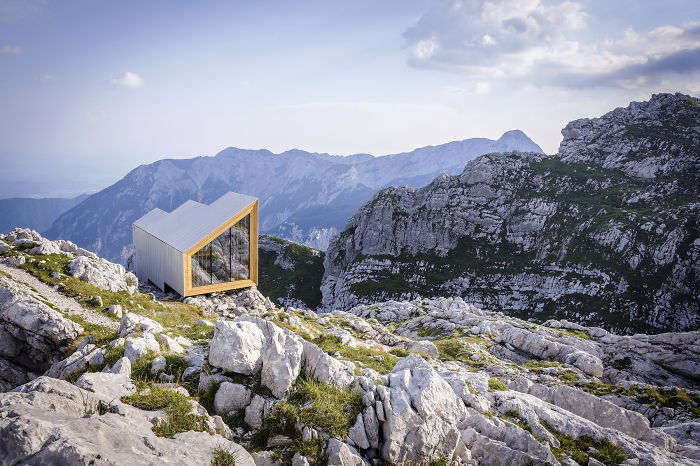 Cozy Alpine Shelter For Climbers That We Built On Slovenian Alps