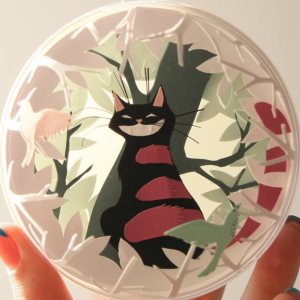 Crazy About Alice: I Made Tiny Paper-Cuts Inspired By