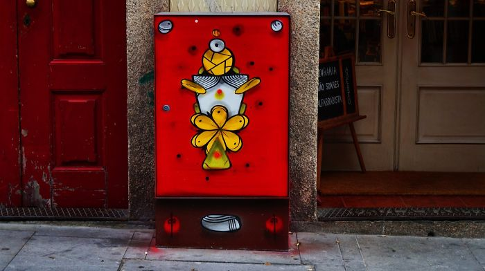 Artists Turn Boring Electrical Boxes Into Beautiful Art