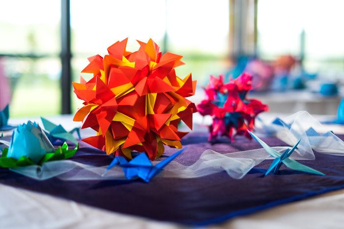Groom Spends 500 Hours Folding Every Wedding Decoration Out Of Paper
