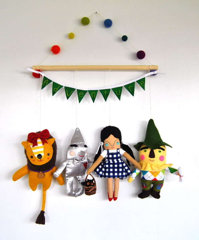 The Wizard Of Oz Wall Hanging