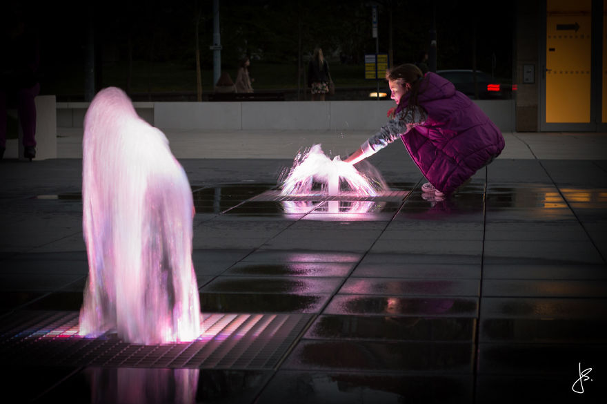 This Magical Fountain Was Installed In My Hometown Brno