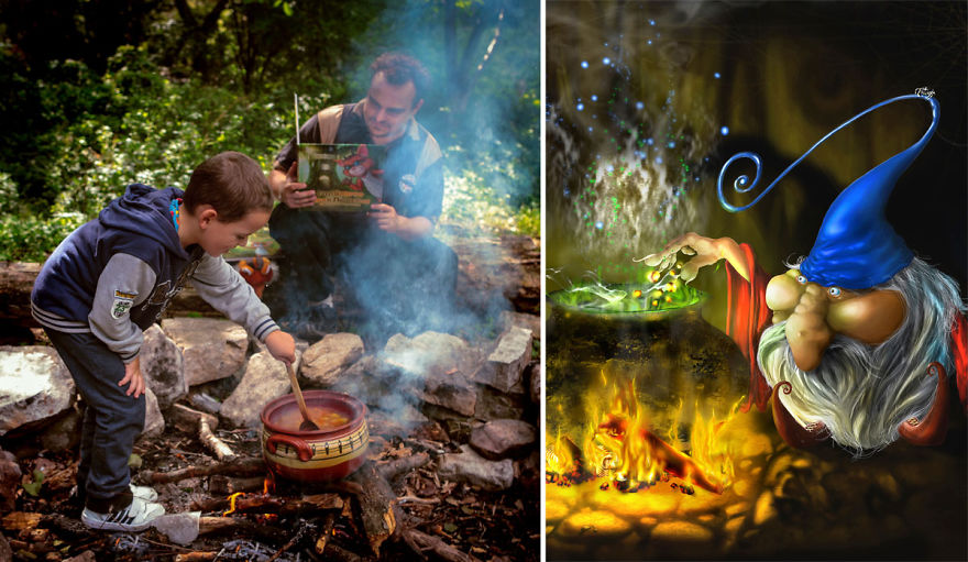 Dad Creates First-Of-Its-Kind Magical Book For His Son