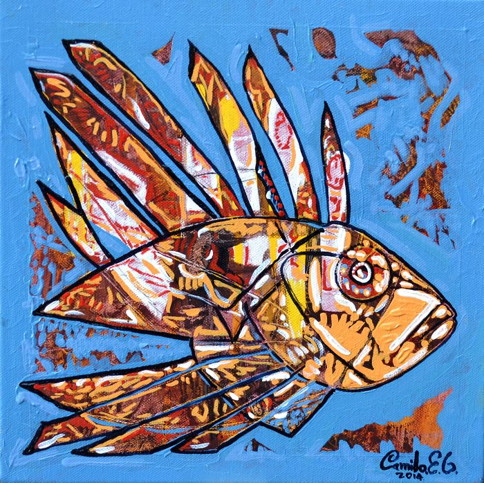 I Paint Marine Life On A Mission To Raise Awareness For Biodiversity And Conservation