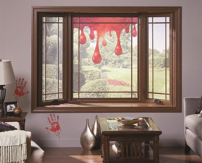 Dripping Blood Window Film