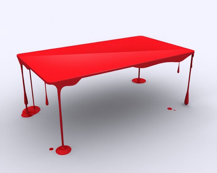 Dripping Table By John Nouanesing