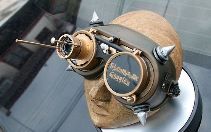 Make Steampunk Goggles