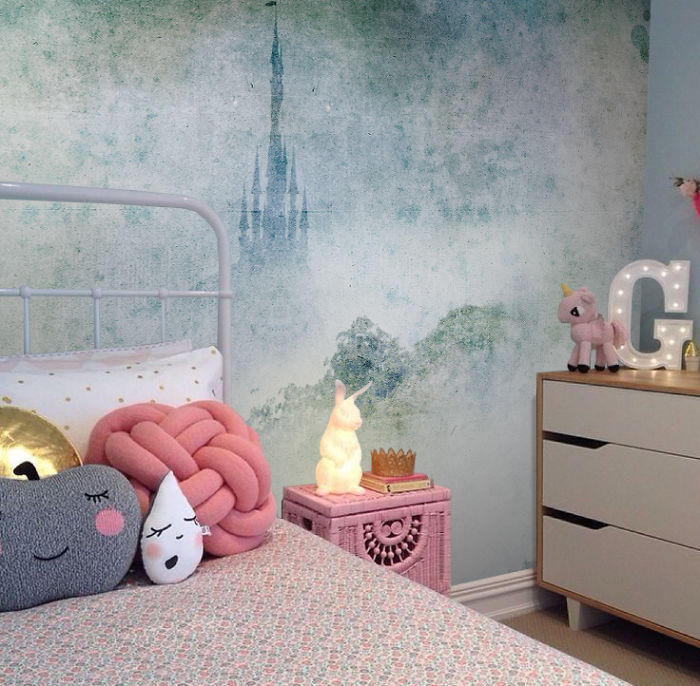 Children's Room Inspired By Disney's Fairy Tales