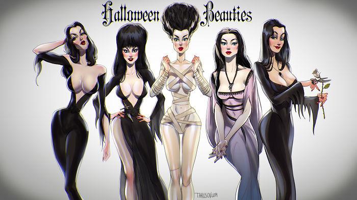 Classic Horror Beauties