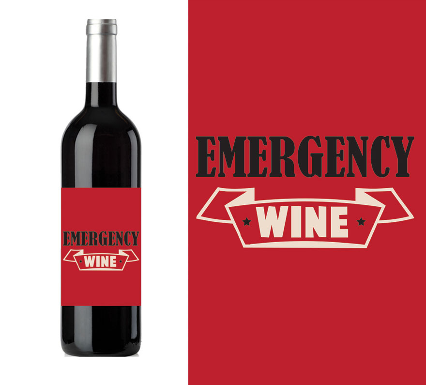 hilarious wine labels you need in your life bored panda