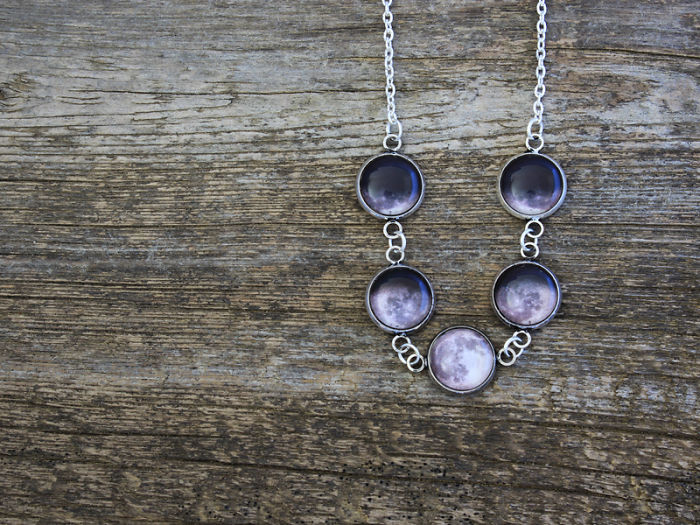 Jewelry, Inspired By The Moon.