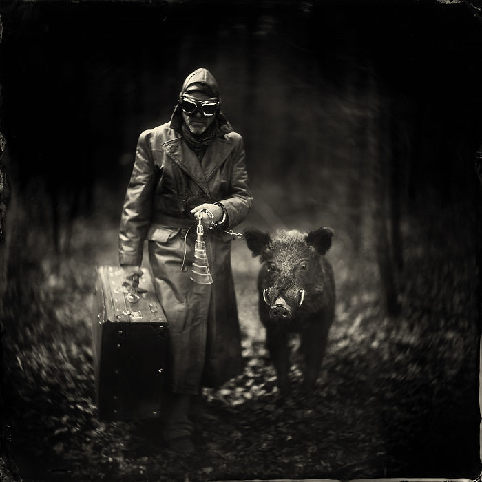 I Tell Stories Through My Wet Plate Photography