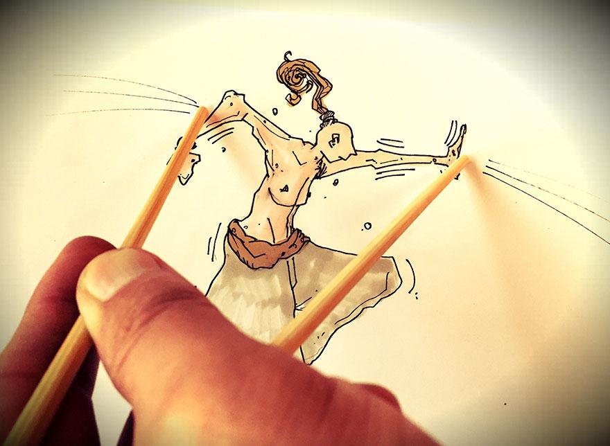 خلاقیت-در-نقاشی