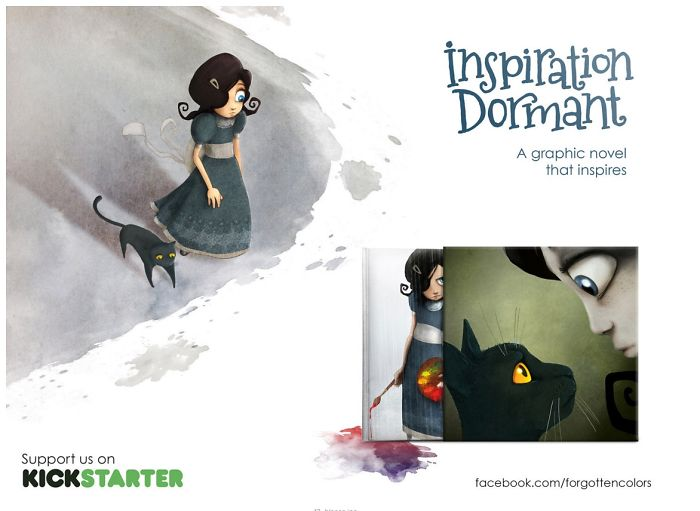 Our Kickstarter Story: A Graphic Novel That Inspires – Inspiration Dormant