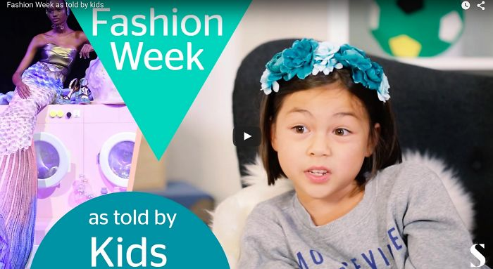 Kids Review The Craziest Looks From Fashion Week