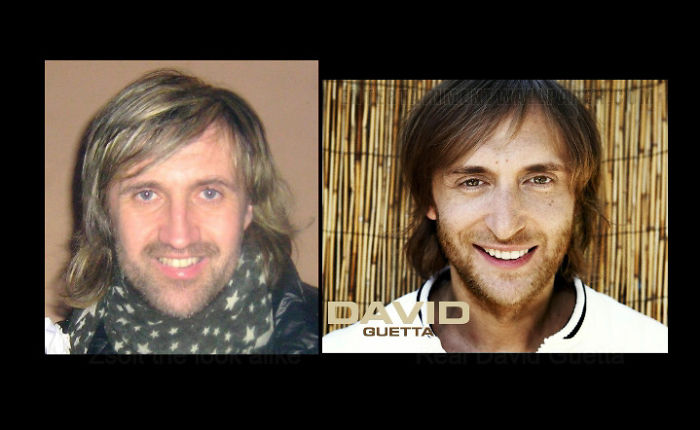 Incredible David Guetta Look Alike