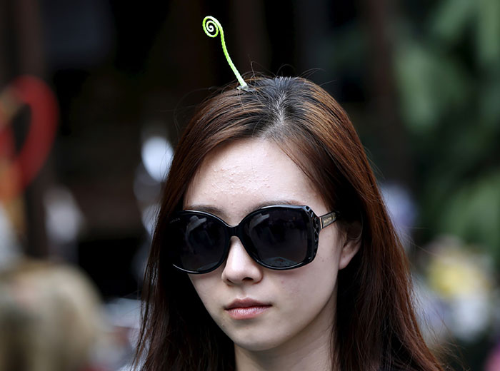 Sprout Hair Pins Are The Latest Trend In China Bored Panda