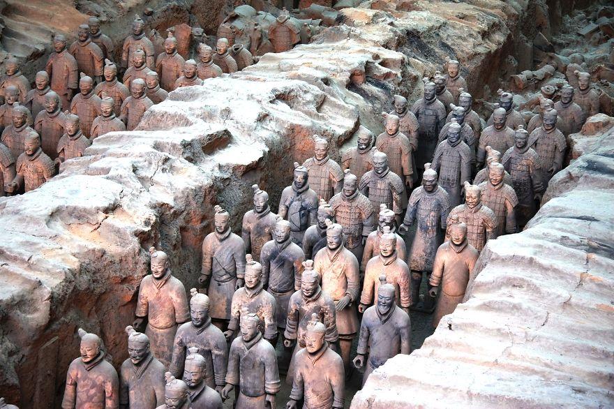 Terracotta Army, Lintong, Xi'an, Shaanxi, China