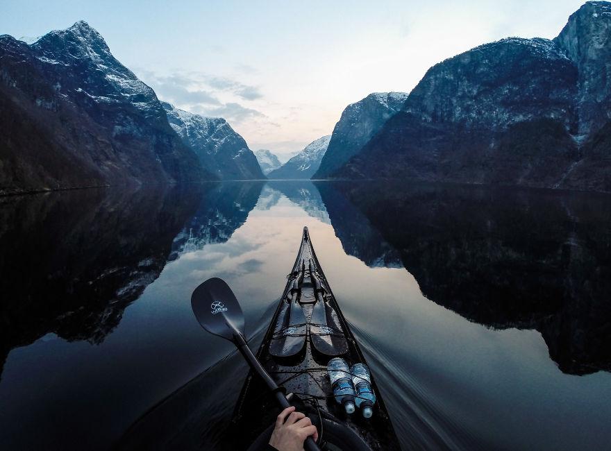 imagini incredibile cu fiordurile norvegiei