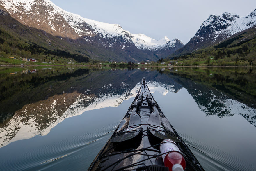 The Zen Of Kayaking: I Photograph The Fjords Of Norway From The Kayak Seat