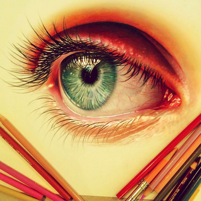 Amazing Realistic Pencil Drawing By Morgan Davidson