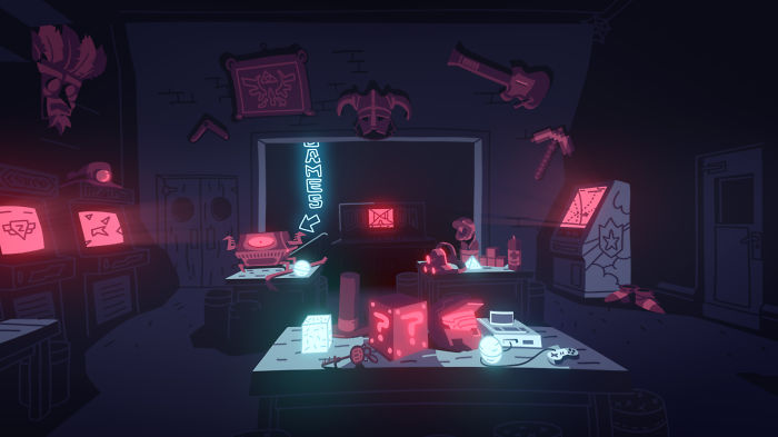 This Animated Promo For Videogame Pub 'the Loading Bar' Doubles As A Fiendish Trivia Quiz!