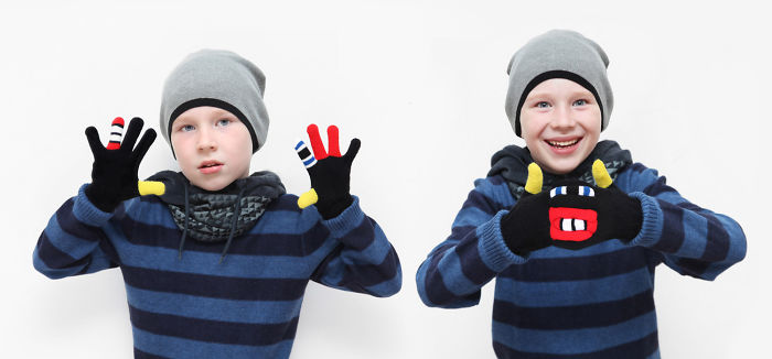 Meet Warmsters, The Monster Gloves!