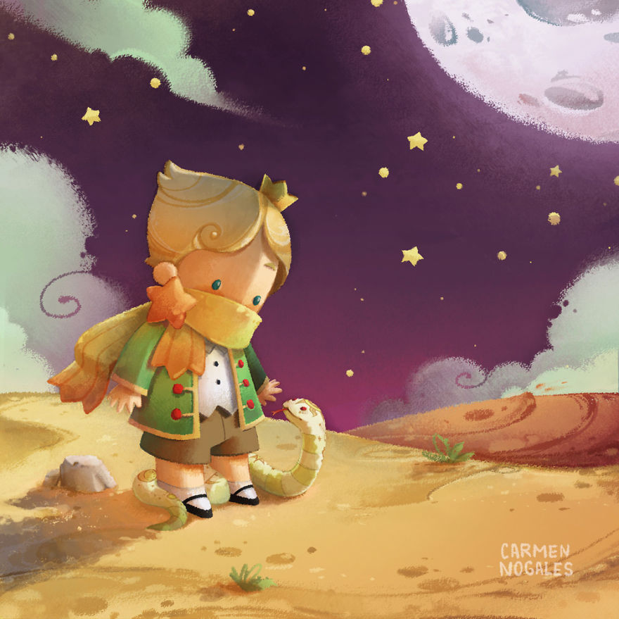 philosophical view of the little prince essay The main theme of the little prince is the importance of looking beneath the  surface to find the real truth and meaning of a thing it is the fox who teaches the.