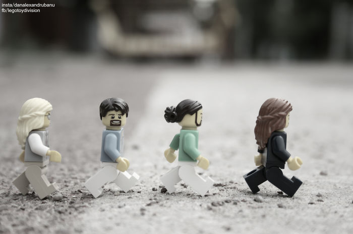 I Photograph Lego Figures Surviving On Earth