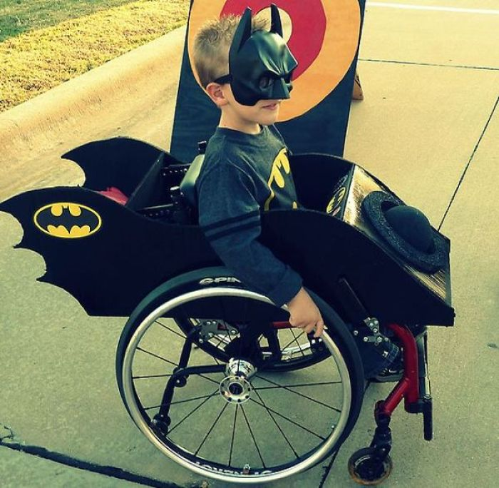 Mom Creates Halloween Costumes For Her Son's Wheelchair