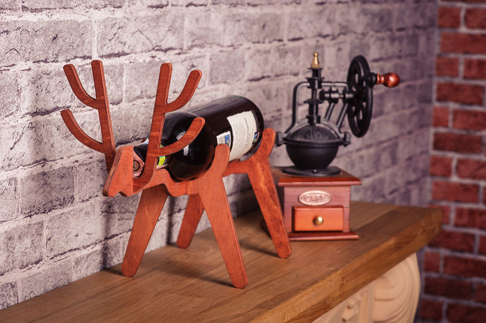 Cute Deer Wine Bottle Holder