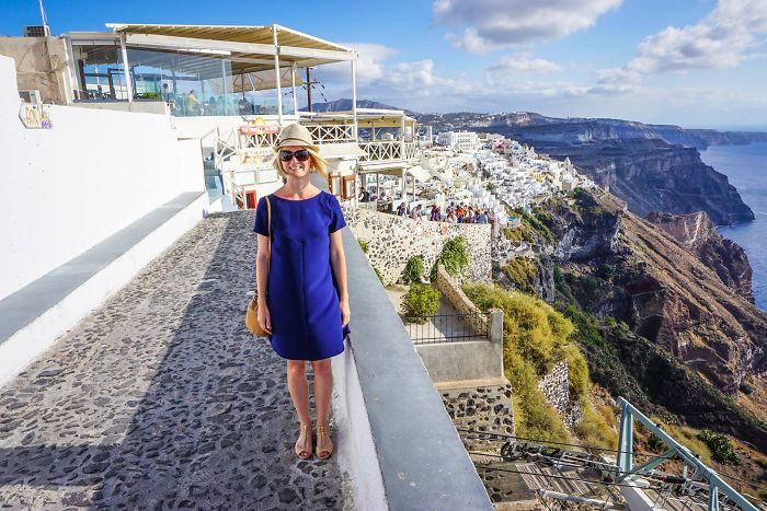 Travel Mom Escapes Her Children And Goes To A Greek Island (video)