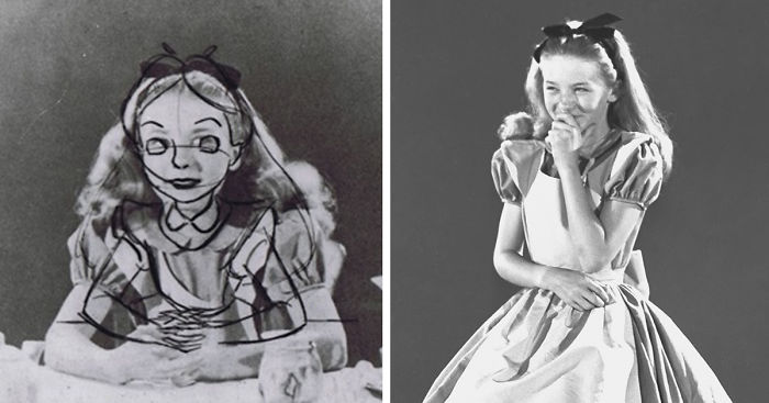 Old Photos Reveal How Disney S Animators Used A Real Life Model To