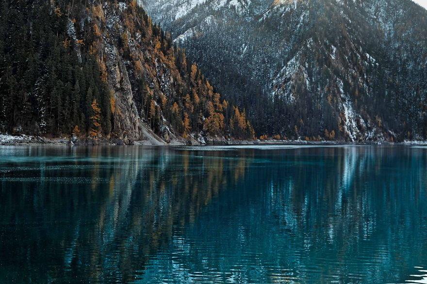 Long Lake, Jiuzhaigou, Sichuan