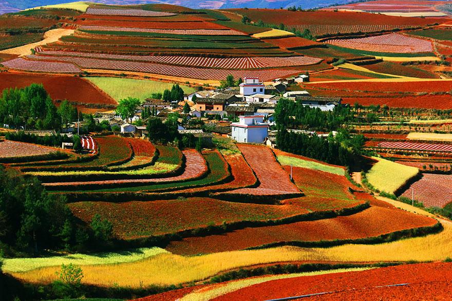 Red Land, Dongchuan, Yunnan
