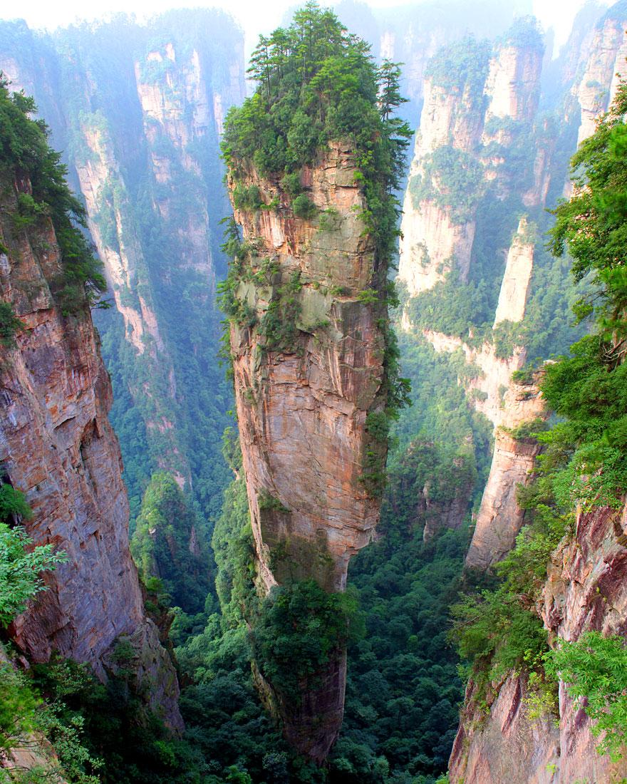 Montañas Tianzi