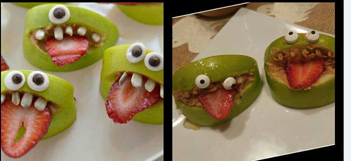 """Apple Monsters – """"nailed It!"""" By Steph Garcia"""