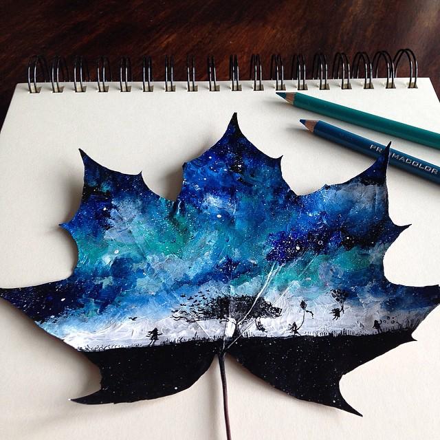 autumn-leaves-paintings-joanna-wirazka-11