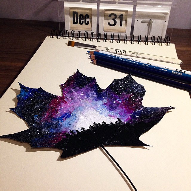 autumn-leaves-paintings-joanna-wirazka-2