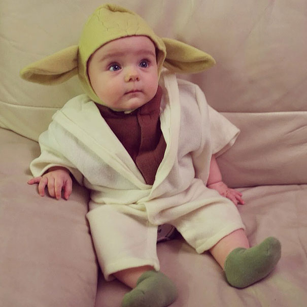 Cute Baby Halloween Costumes 15 adorable baby halloween costumes under 30 15 Baby Yoda