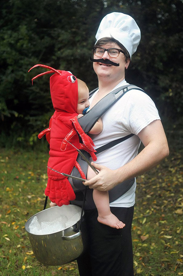 Chef And Lobster Costume
