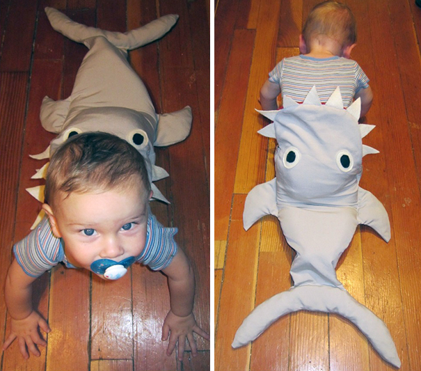 13 eaten by a shark - Baby Halloween