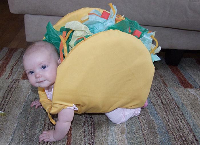 Taco Baby Costume