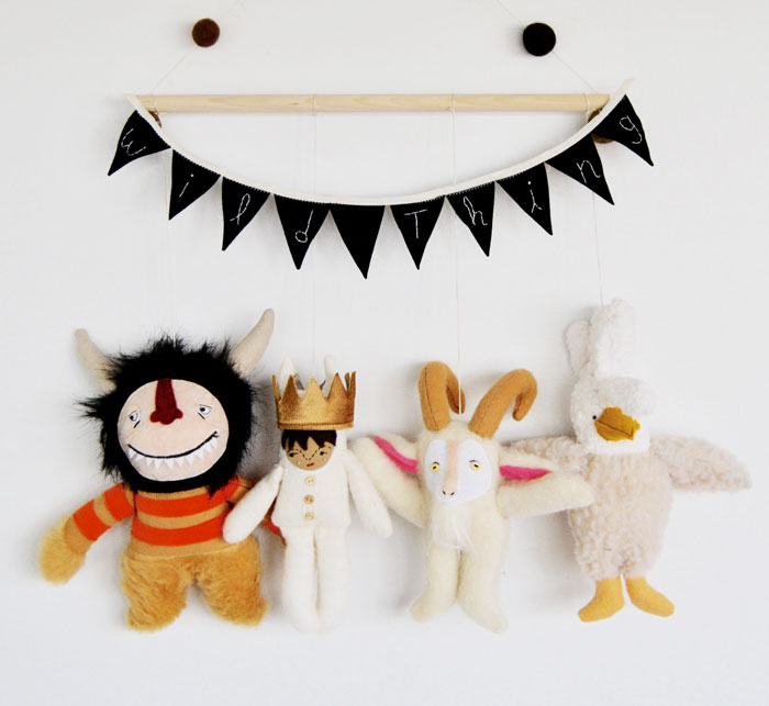 I Turn Storybook Characters Into Delightful Wall Hangings And Nursery Mobiles